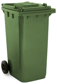 May Green Wheelie Bin - 240 Litre