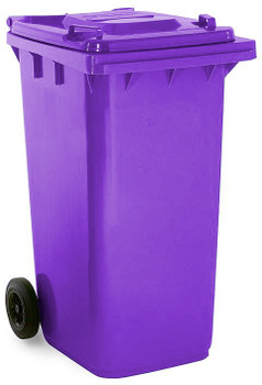 Purple Wheelie Bin - 240 Litre