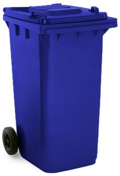 Sapphire Blue Wheelie Bin - 240 Litre