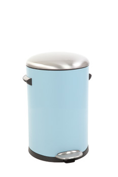 Vepa Eko Belle Deluxe Pedal Bin 12 Litres - Light Blue, Sandcoated