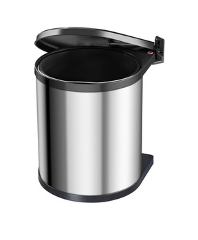 Hailo Compact-Box M 15L Built-in Bin - Stainless Steel