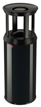 Hailo Profiline Safe Plus XL Fireproof Bin and Ashtray - Black
