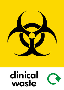 Clinical Waste Sticker
