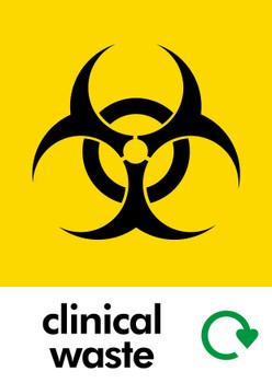 Clinical Waste Sticker