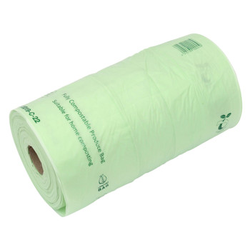 CBPROD - All-Green Compost Bag Compostable Produce Bags for Fruit and Vegetables - 350 Bags Per Roll