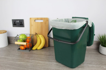 All-Green Green Giraffe Compostable Kitchen Caddy Bags - Large - 10 Ltr