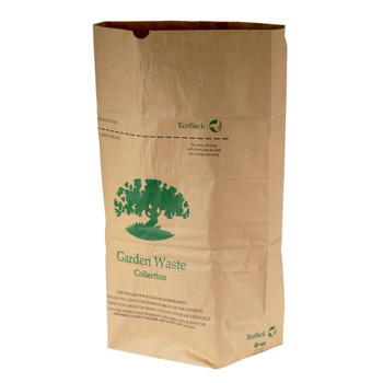 ES75 - All-Green EcoSack 75L Compostable Paper Garden Waste Sack - 10 Per Pack