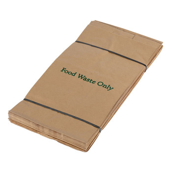 All-Green EcoSack Compostable Paper Caddy Bags - 8 Ltr