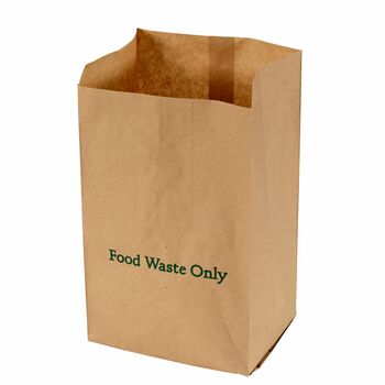ES10 - All-Green EcoSack 10L Compostable Paper Kitchen Caddy Bags - 25 Bags Per Pack