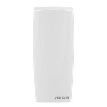 VAIR-MVPW - Vectair V-Air® Solid MVP Dispenser - White - Front - A Fully Recyclable Passive Air Care System that Provides 60 Days of Odour Control
