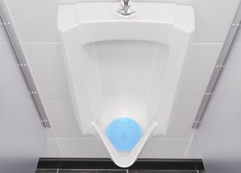 WEE-SCRN LINEN - Vectair Wee-Screen® - Linen Breeze - Urinal - Deep Bubble Design Provides Enhanced Splash Back Protection Without Affecting Drainage