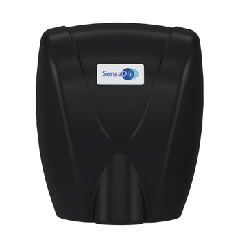 SENSADRI-EU-B - SensaDri® Hand Dryer 230v - Black - Front - Infra-red, Touch-free Operation Eliminates the Need to Make Contact with Potentially Contaminated Surfaces