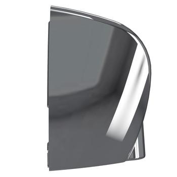 SENSADRI-EU-C - SensaDri® Hand Dryer 230v - Chrome - Side - Invizi-Touch® Antimicrobial Silver Ion Protection Reduces Germs and Bacteria that Travel Through the Dryer