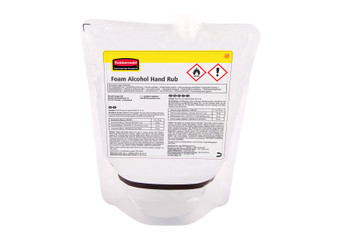 2146695 - Rubbermaid Alcohol Plus Hand Sanitiser Refill - 400ml - Fast, Effective Hand Sanitiser Capable of Killing 99.99% of Germs