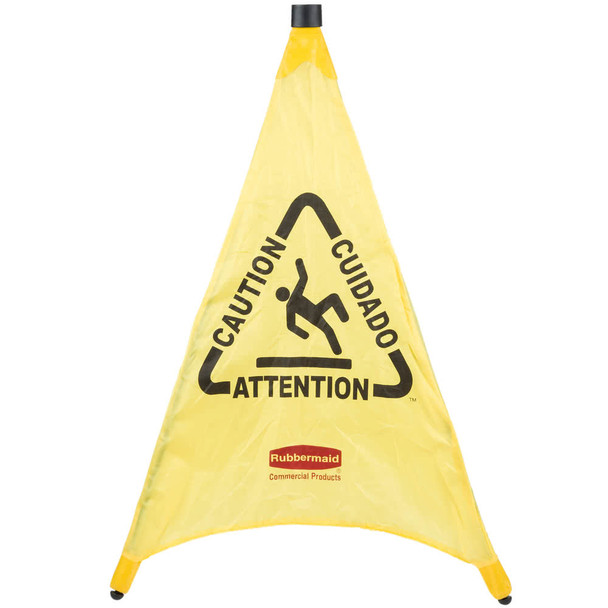 Rubbermaid Pop-Up Cone 76 cm - Multilingual Caution Symbol