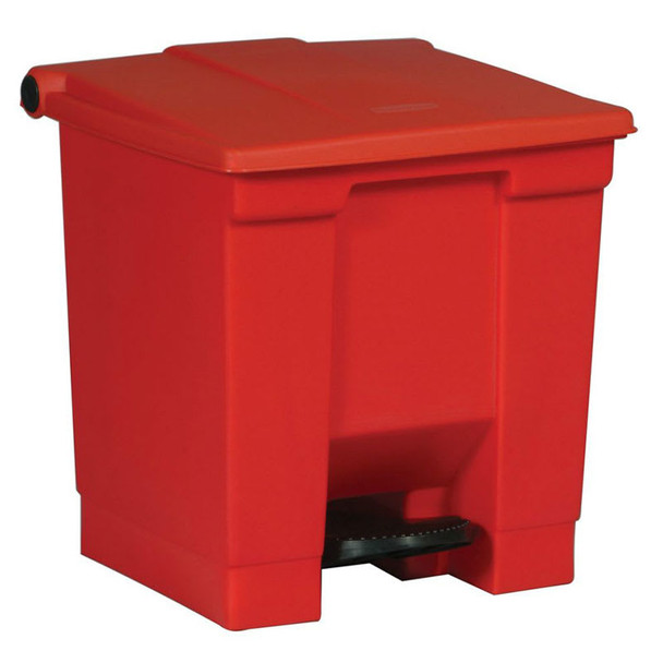 Rubbermaid Step-On Container 30L Red