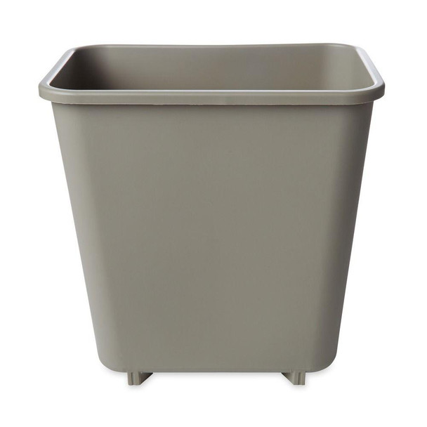 Rubbermaid Rectangular Wastebasket 7.7 L - Beige