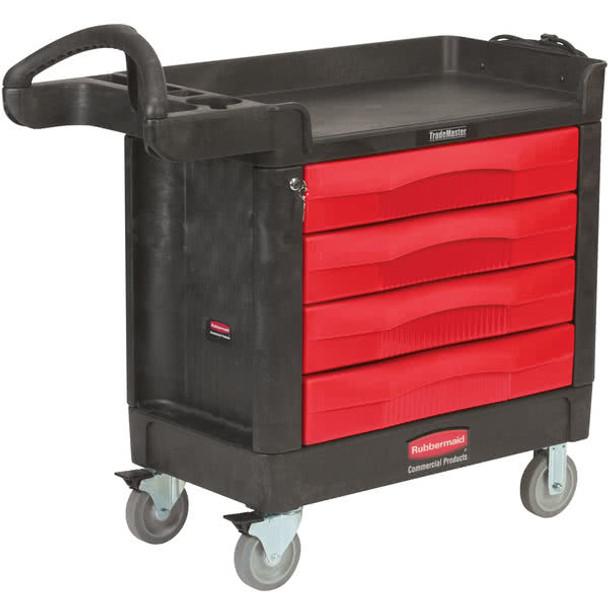 Rubbermaid Trademaster™ - 4 Drawer Cart