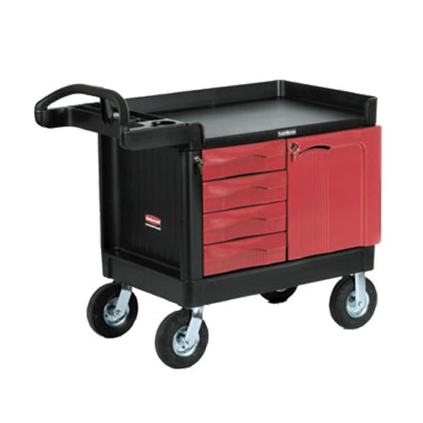 Rubbermaid Trademaster™ - 4 Drawer, 1 Door Mobile Cabinet