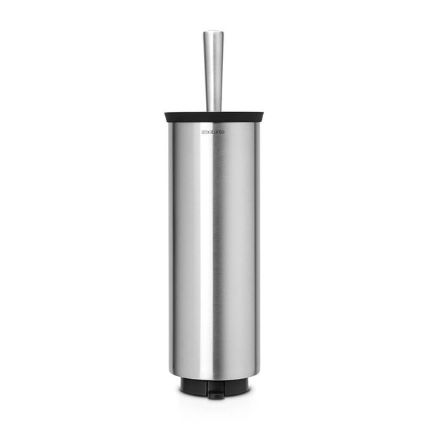 Brabantia Toilet Brush and Holder Profile - Matt Steel