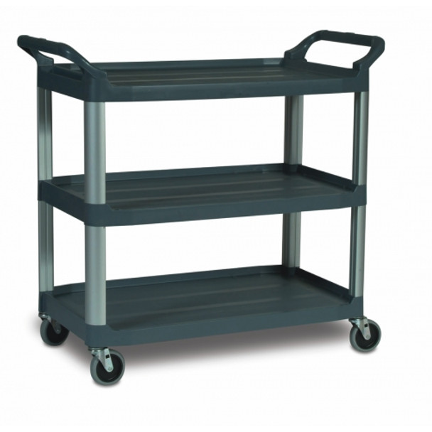 Rubbermaid X-Tra™ Cart Open - Black