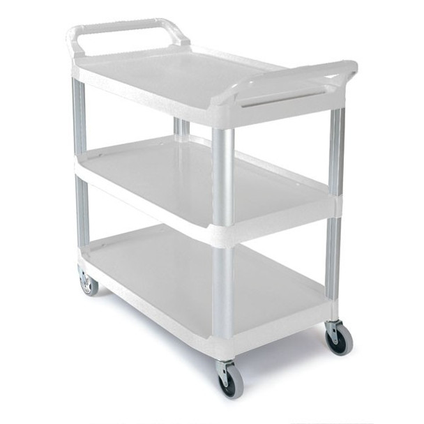 Rubbermaid X-Tra Cart Open - White