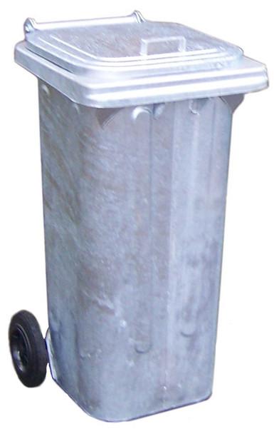120 Litre Metal Wheelie Bin
