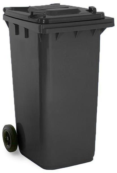 Black Wheelie Bin - 240 Litre