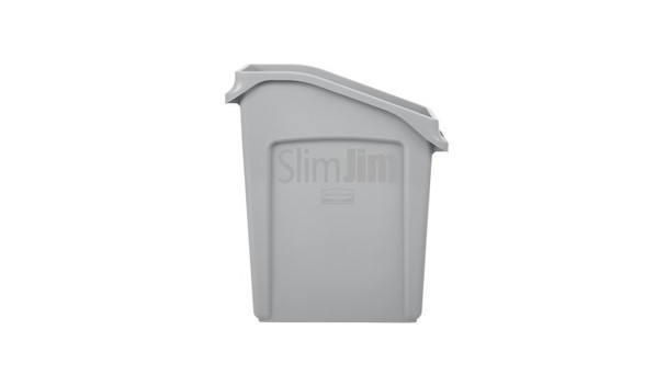 Rubbermaid Slim Jim Under Counter Container 49 L - Gray