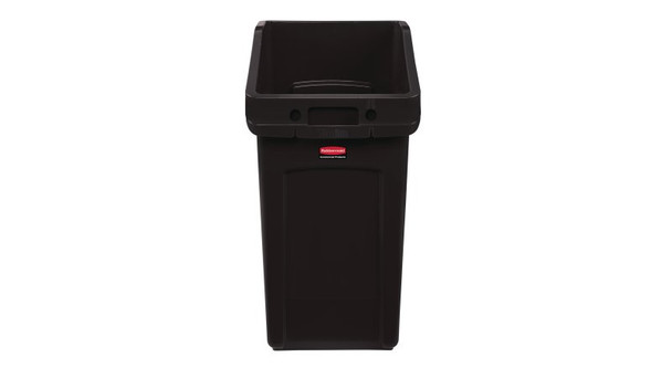 Rubbermaid Slim Jim Under Counter Container 87 L - Brown