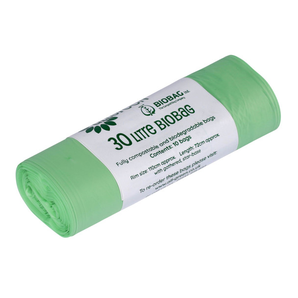 All-Green 30L compostable bags (7 rolls)