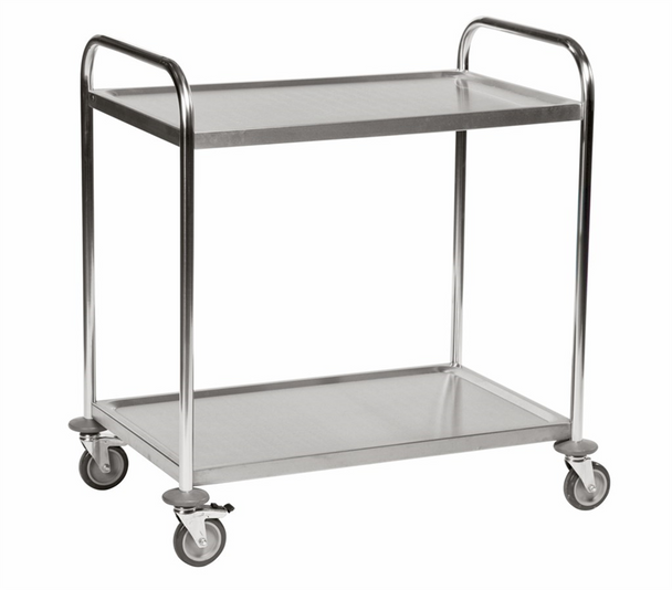 Konga Stainless Steel Trolley 2 Tier - 825 x 500mm
