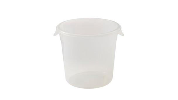 Rubbermaid Round Storage Container 3.8 L (FG572124CLR)