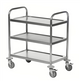 Konga Stainless Steel Trolley 3 Tier - 825 x 500mm