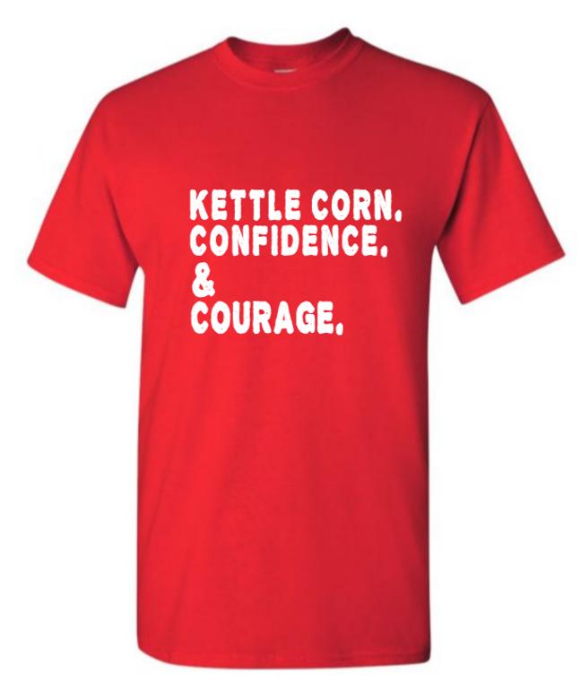 KETTLE CORN & CONFIDENCE T-SHIRT