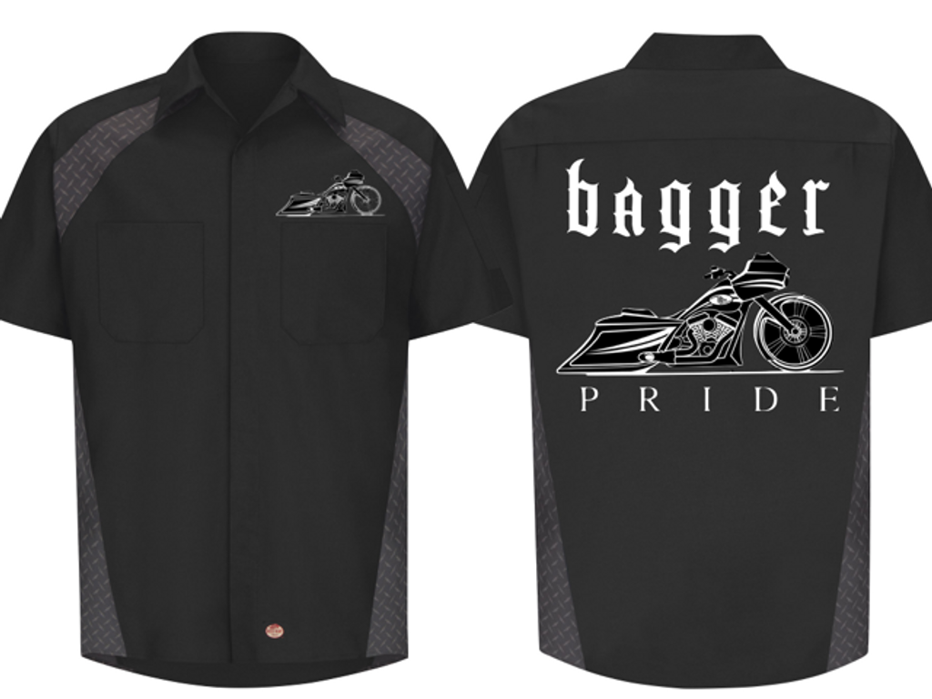 BAGGER PRIDE (Road Edition) WORK SHIRTS