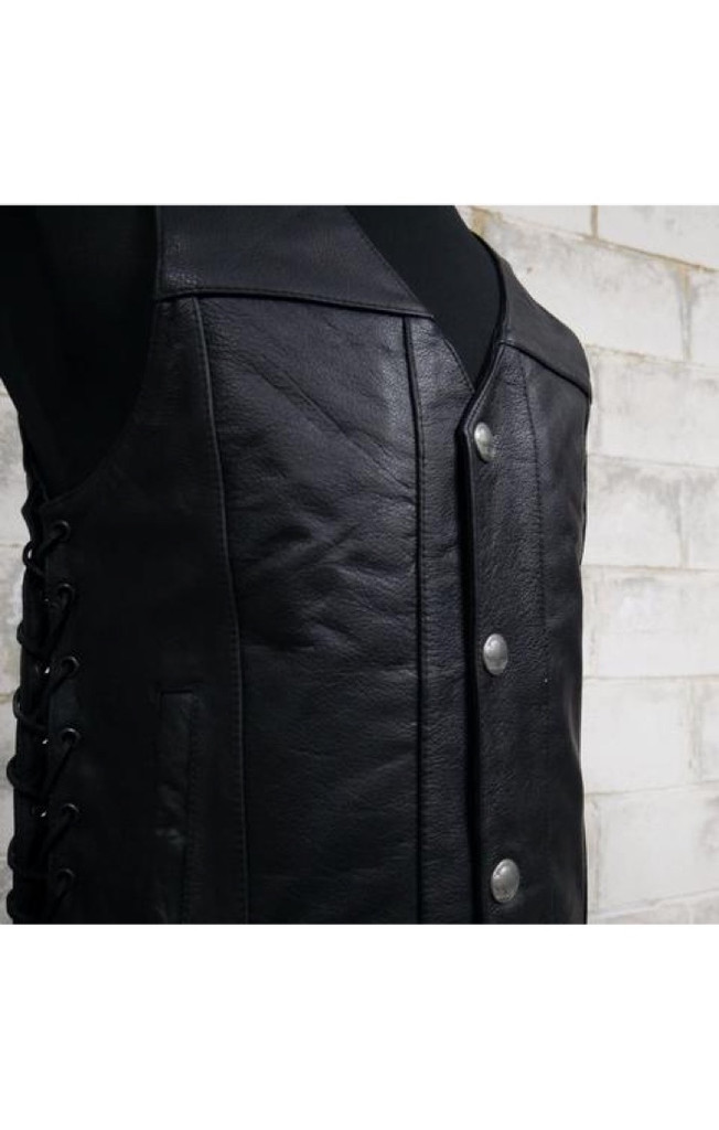 THE GUNSLINGER LEATHER VEST