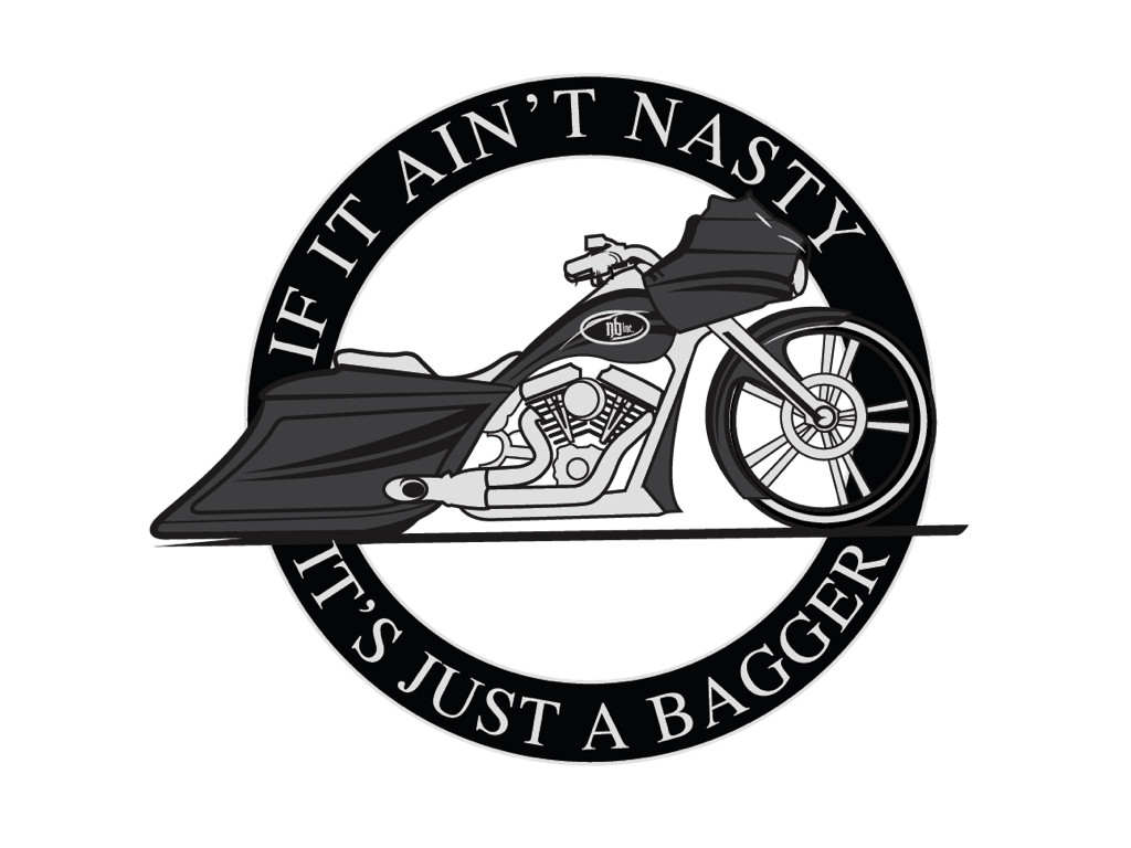 IF IT AIN'T NASTY IT'S JUST A BAGGER (Road Edition) T-Shirt