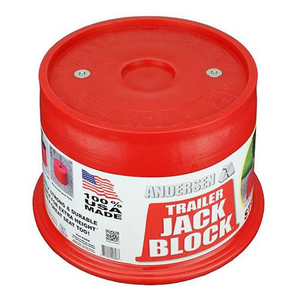 TRAILER JOCK BLOCK