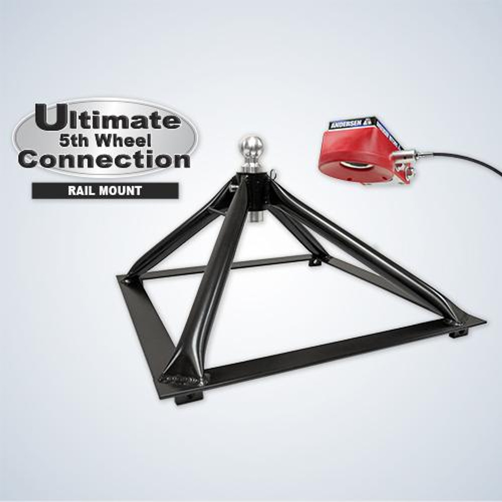 ULTIMATE 5TH WHEEL CONNECTION - RAIL MOUNT