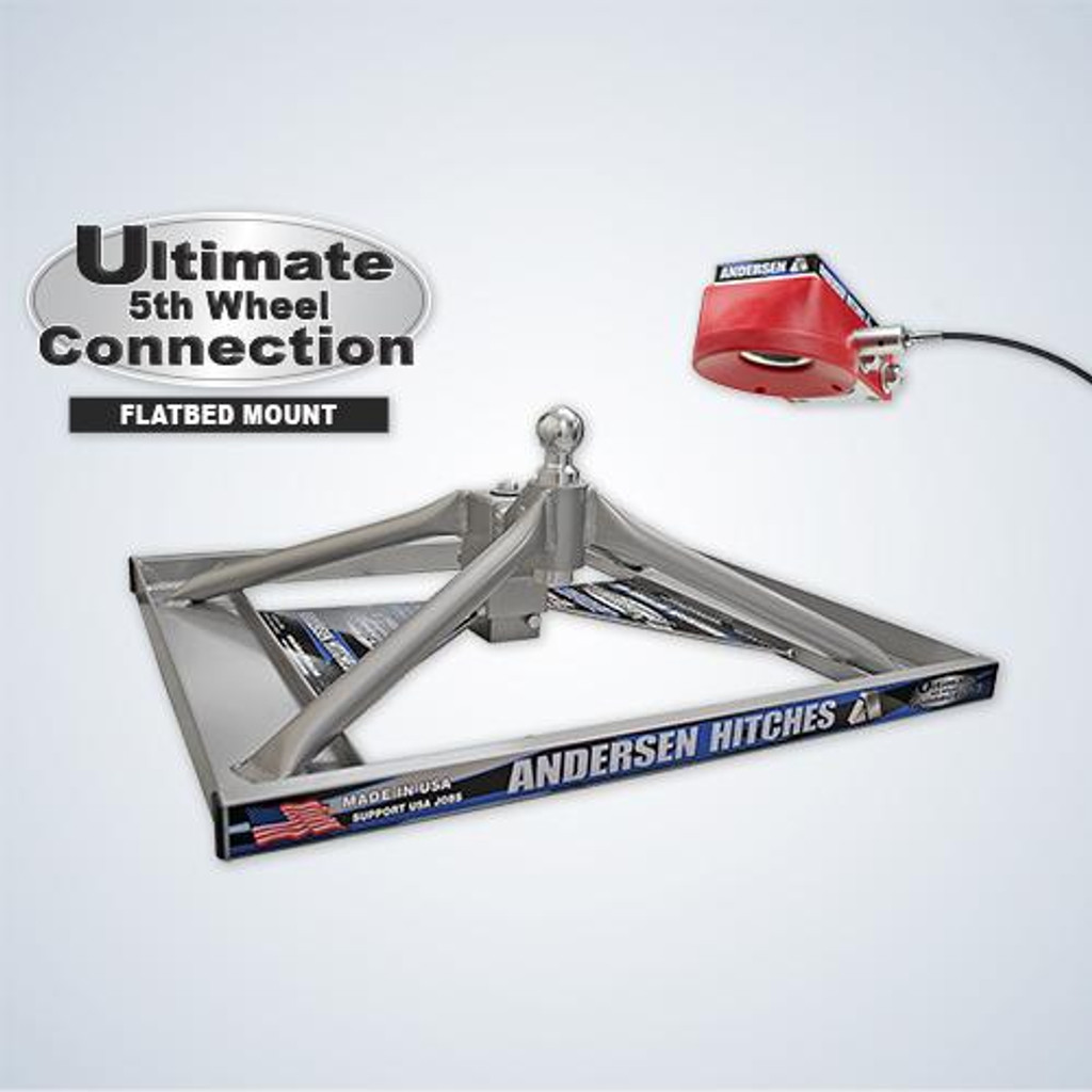 ULTIMATE 5TH WHEEL CONNECTION – FLATBED MOUNT TOOLBOX VERSION (ALUMINUM)