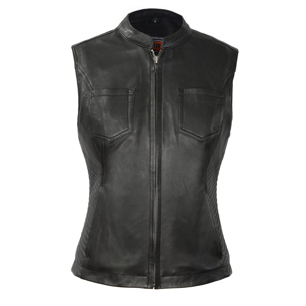 ENVY LEATHER VEST