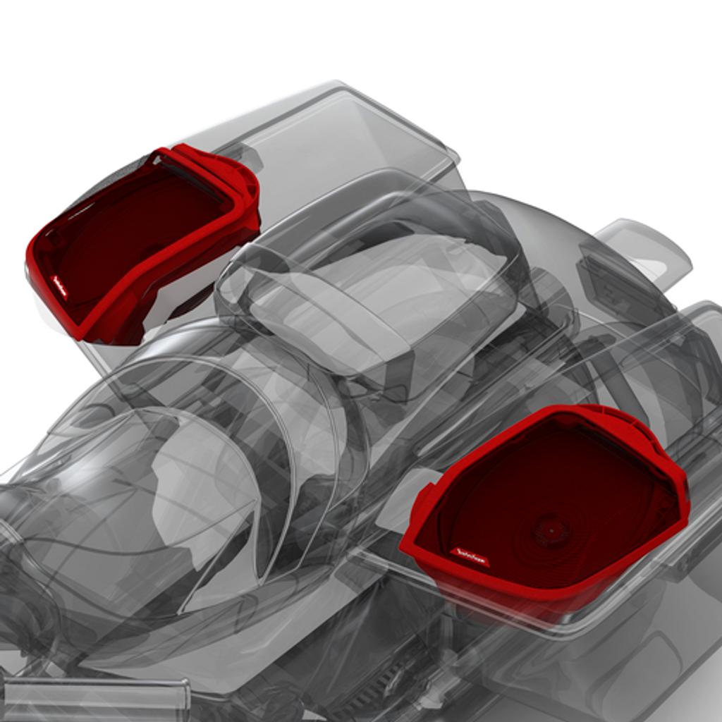 Power Harley-Davidson® Rear Audio Kit (2014+)