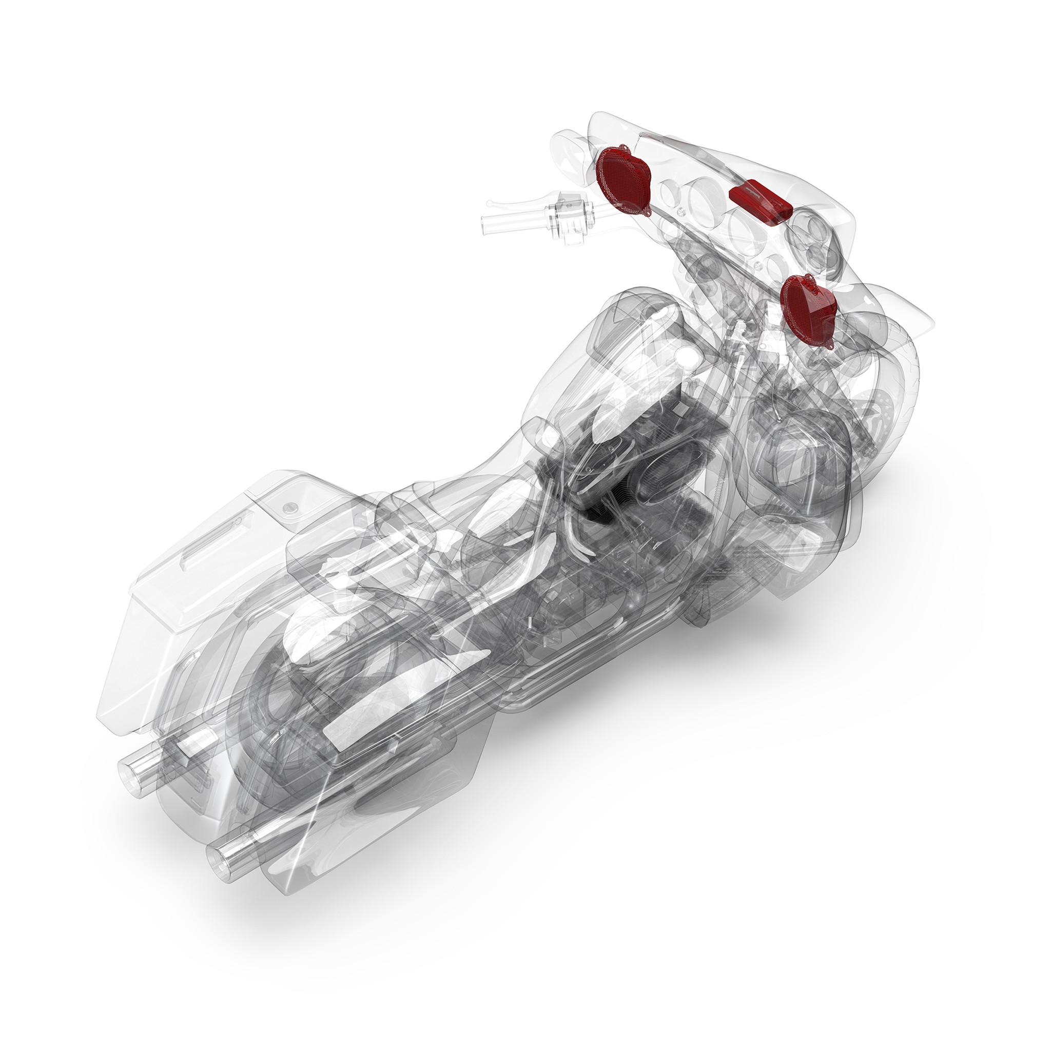 2014+ Harley-Davidson® Road Glide® & Street Glide® 2 Speaker & Amp on