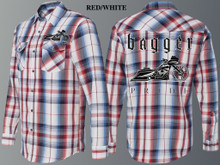 BAGGER PRIDE PLAID ROAD EDITION LONG SLEEVE