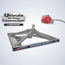 ULTIMATE 5TH WHEEL CONNECTION – FLATBED MOUNT (ALUMINUM)