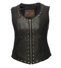 EMPRESS LEATHER VEST
