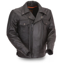 MASTERMIND LEATHER JACKET