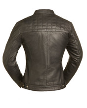 BLACK DIAMONDS LEATHER JACKET