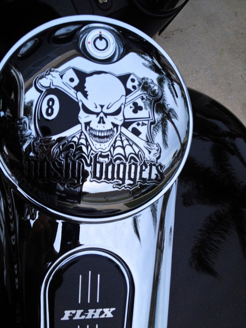 CUSTOM GAS CAP LID